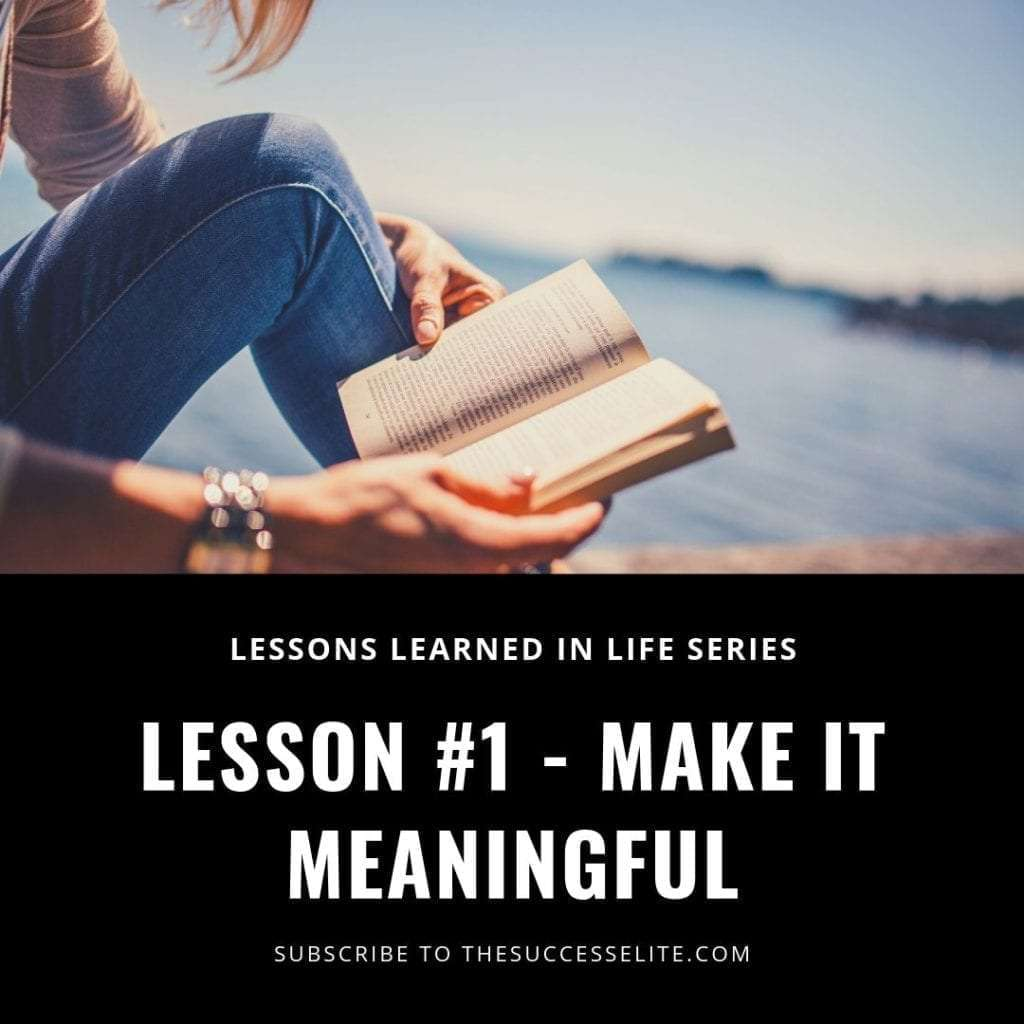 Lessons I Learned While Acquiring New Skills #1