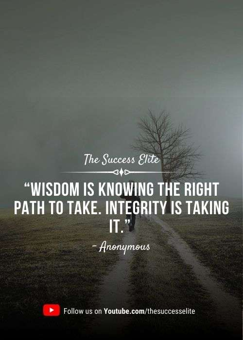 Inspiring Integrity Quotes