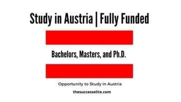 Austria Government Scholarship 2022 | Fully Funded