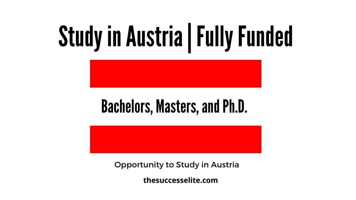 Austria Government Scholarship 2022   Fully Funded