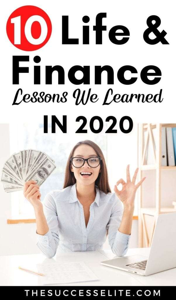 10 Life and Finance Lessons We Learned in 2020