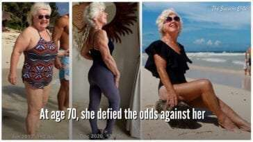 How A 70-Year-Old Woman Defied All Odds In Her Fitness Journey