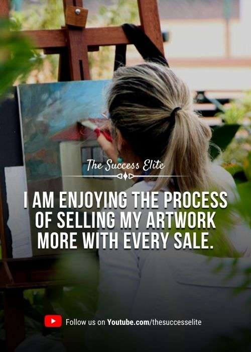 AFFIRMATIONS FOR ARTISTS