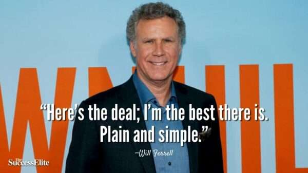 Top 25 Will Ferrell Quotes on Happiness