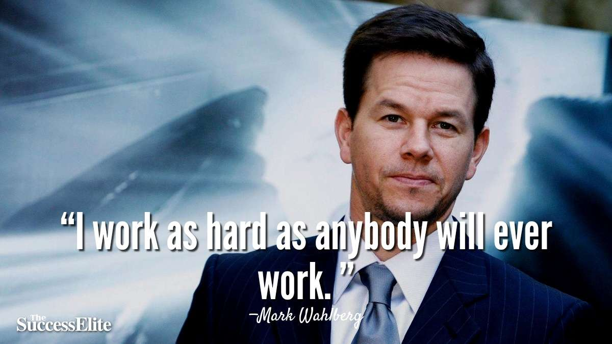 Top 35 Mark Wahlberg Quotes on Success