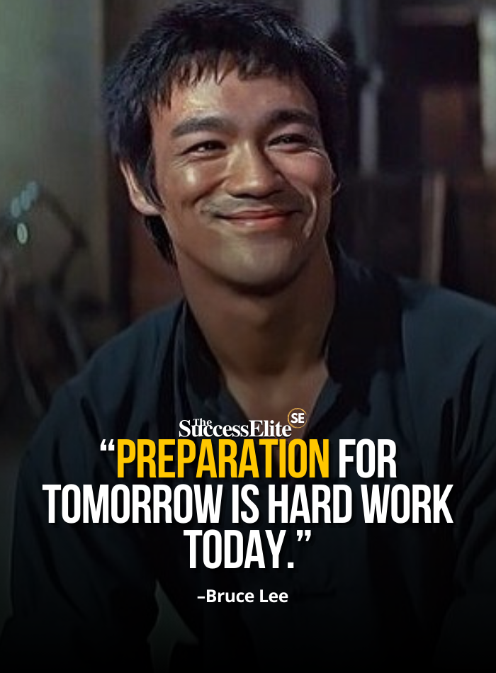 Top 80 Bruce Lee Quotes on Winning